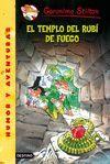 EL TEMPLO DEL RUBI DE FUEGO  HUMOR Y AVENTURA GERONIMO STILTON 48
