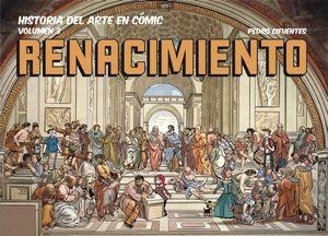 HISTORIA DEL ARTE EN COMIC EL RENACIMIENTO