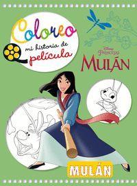 MULAN. COLOREO MI HISTORIA DE PELICULA