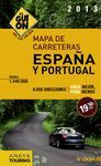 MAPA DE CARRETERAS ESPAÑA PORTUGAL GUION 2013